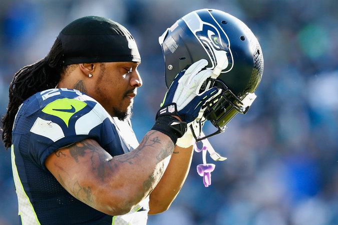 Seahawks RB Marshawn Lynch