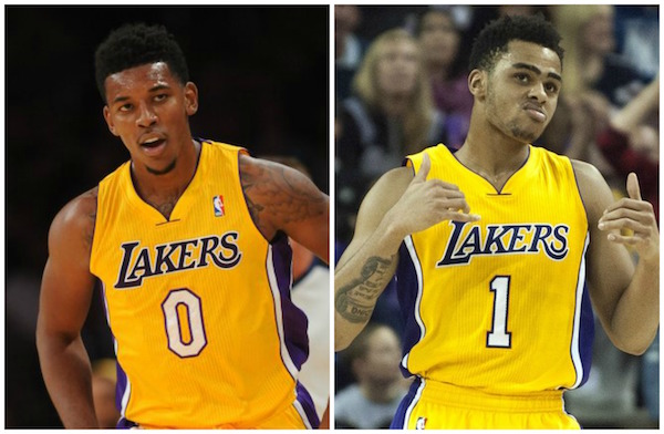 D'Angelo Russell EXPOSES Nick Young As A Dirty Dawg