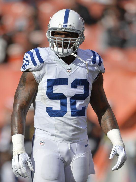 Colts' D'Qwell Jackson