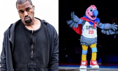 Kanye West Want To Redesign LA Clippers Mascot