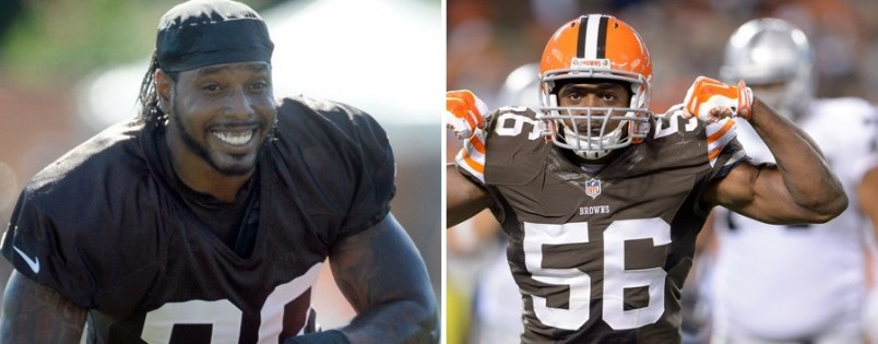 Karlos Dansby and Dwayne Bowe