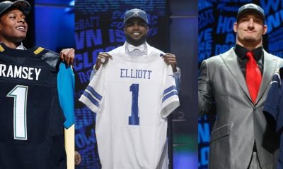 The 2016 NFL Draft First Round Picks Go To...