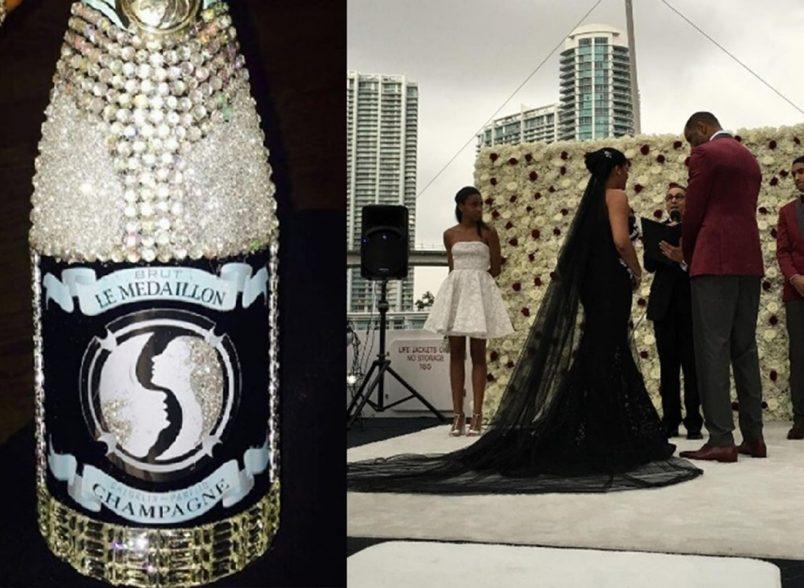 Kenyon martin wedding