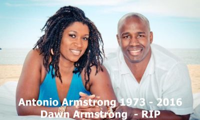 NFL Linebacker Antonio Armstrong + Wife Murdered By Son
