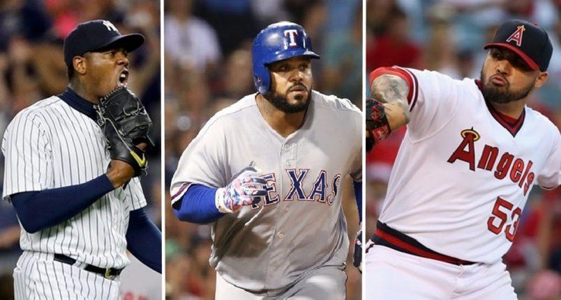 MLB BITES: Angels Trading Hector Santiago; Prince Fielder Gets Neck Surgery; Aroldis Chapman Traded