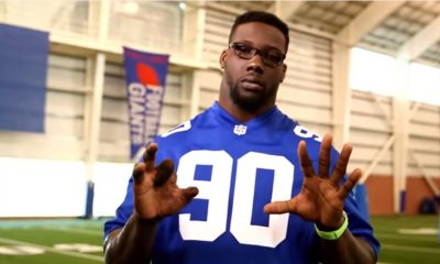 Jason Pierre-Paul Does PSA About Fireworks Safety