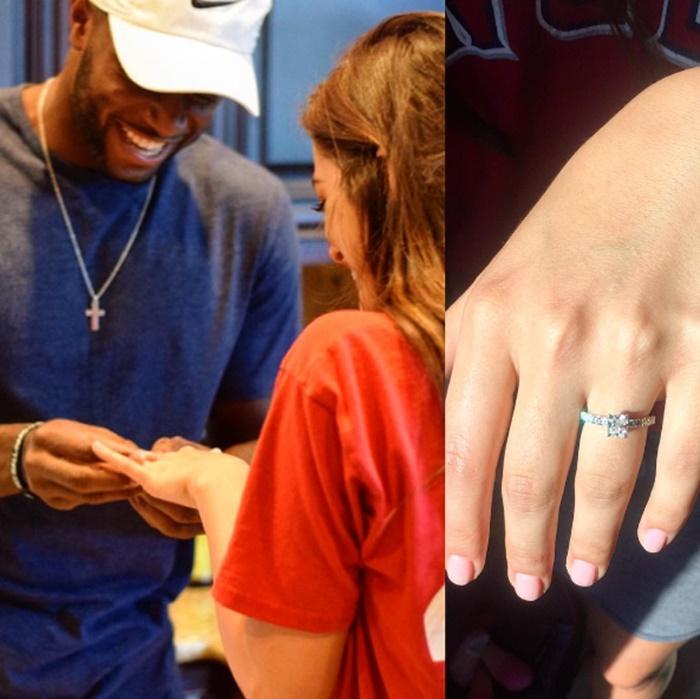 MLB Right Fielder Torii Hunter Sr Son Just Got Engaged