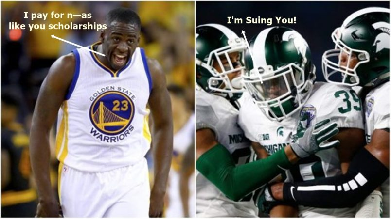 Draymond Green Fight Was Over UMICH CB's Girlfriend