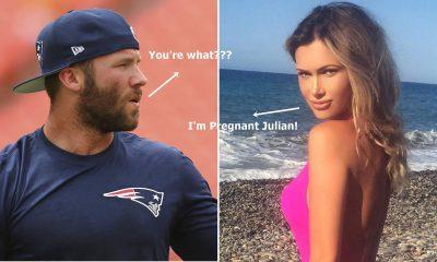 Did Patriots star Julian Edelman Knock Up A Hot Model