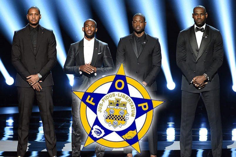Police Hear LeBron ESPYs Anti-violence Speech LOUD + CLEAR