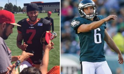 BITES: Eagles Caleb Sturgis Concussion + Colin Kaepernick Gets RG3 Shutdown