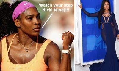 Serena Williams SHUTS DOWN Nicki Minaj