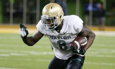 Baylor Receiver Ishmael Zamora Suspended For Animal Abuse