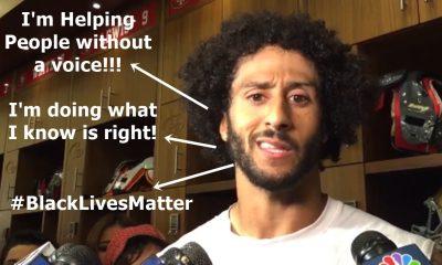Colin Kaepernick Stands Up For #BlackLivesMatter