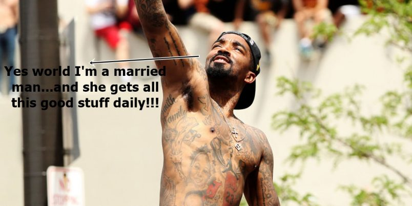 JR Smith Officially Off The Market