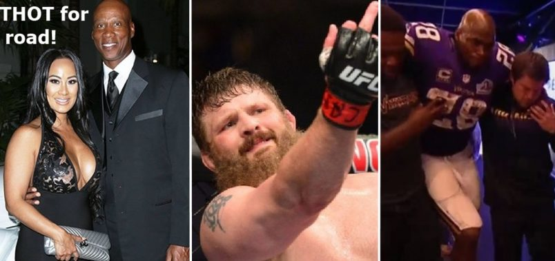 Byron Scott + THOT, Adrian Peterson Injury + UFC Big Country Kicks Ref