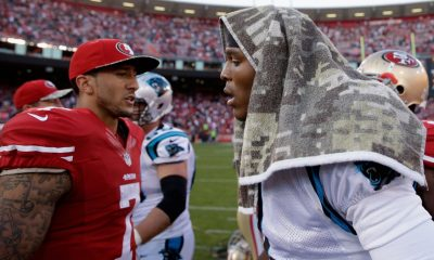 Cam Newton Weighs In on Colin Kaepernick