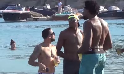 USA Basketball Ballers Having A Big Fat Greek Vacation