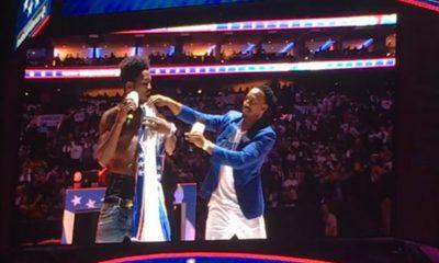 Desiinger Booed Off Philadelphia 76ers Home Opener
