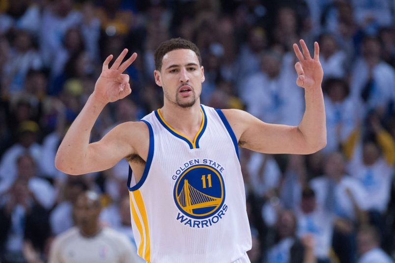 Warriors Giving Up Klay Thompson