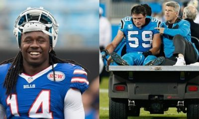 BITES: Bills WR Sammy Watkins off IR; Panthers LB Luke Kuechly Concusion
