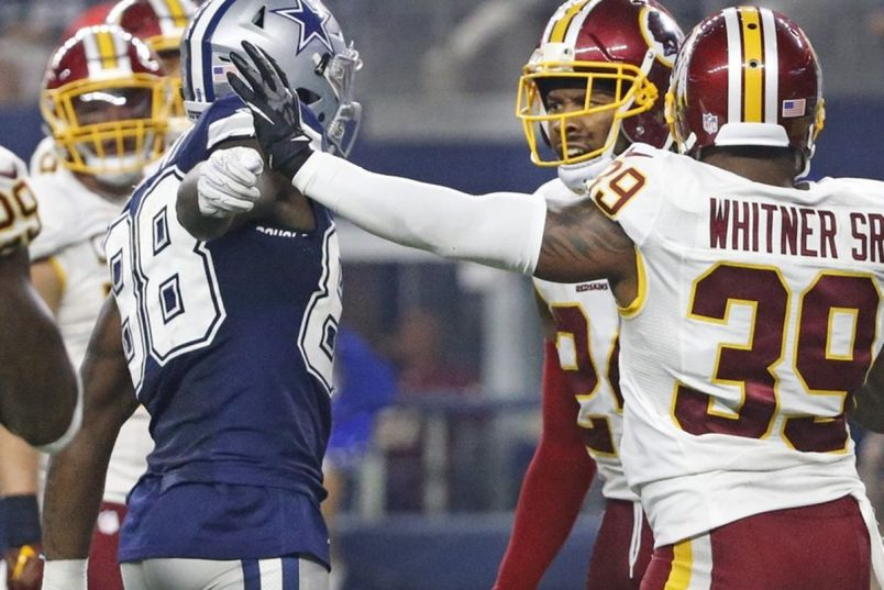 Redskins Josh Norman + Cowboys Dez Bryant Fight After Game