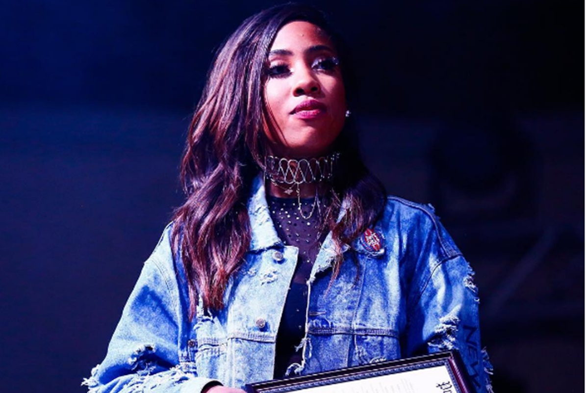 Sevyn Streeter Redoing National Anthem with 76ers