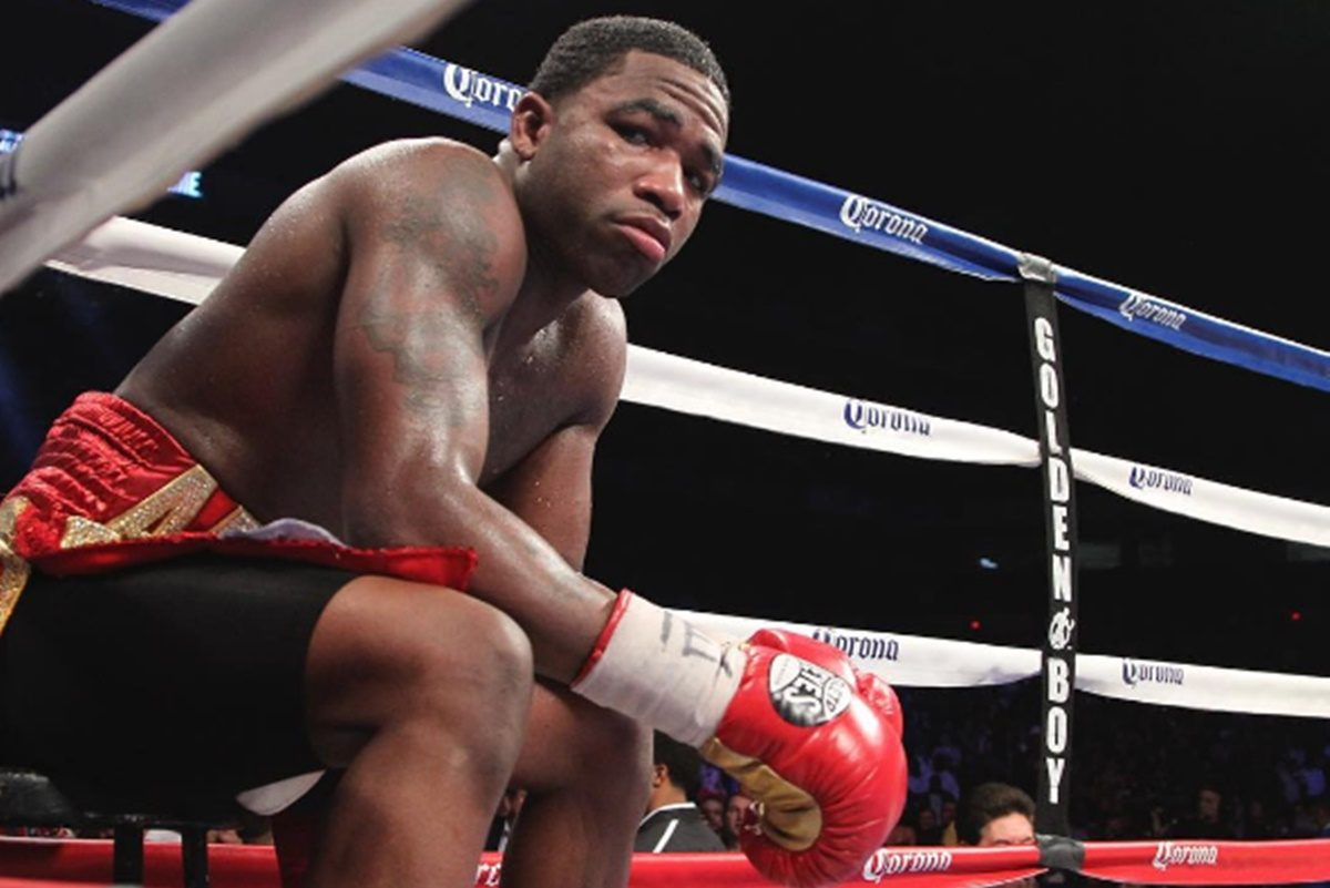 Adrien Broner Caught Cheating; Woman Crashes Car Into His Mercedes
