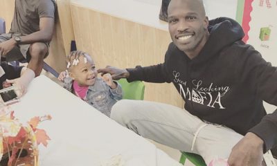 Chad Ochocinco Takes 200 People To Office Christmas Party