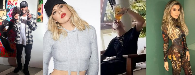 Khloe Caught Trash Talking, Johnny Manziel Chuggin + Larissa Pippen New Baller