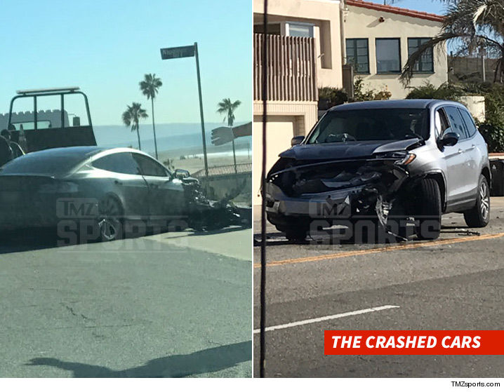 DeAndre Jordan Involved in a Car Accident