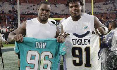Miami Dolphins Cut DL Leon Orr During Practice