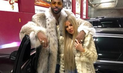 Tristan Thompson SMOTHERED With Gifts by Kris Jenner