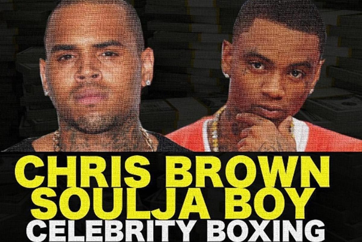 Chris Brown vs Soulja Boy Fight Moves to Dubai
