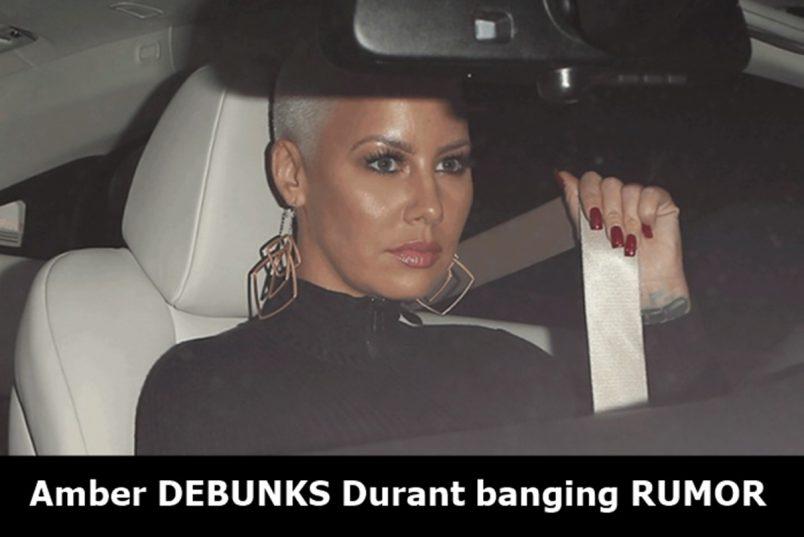 Amber Rose DEADS Kevin Durant Banging RUMORS