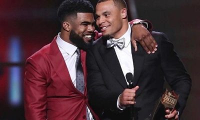 Dak Prescott Shares Special Moment with Ezekiel Elliott