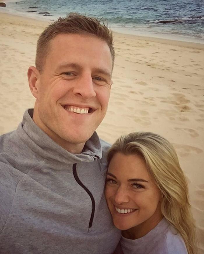 JJ Watt and Kealia Ohai Spotted in Paradise Cove Boutique Hotel