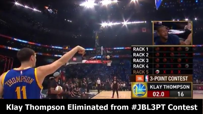 Klay Thompson Eliminated from #JBL3PT Contest; Eagles Eyeing LeSean McCoy
