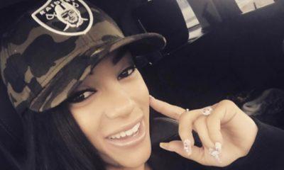 Roni Rose Supports The Raiders Staying in Oakland in Custom Bikini