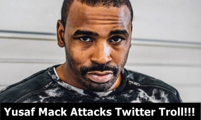 Yusaf Mack Beats Down of a Twitter Troll