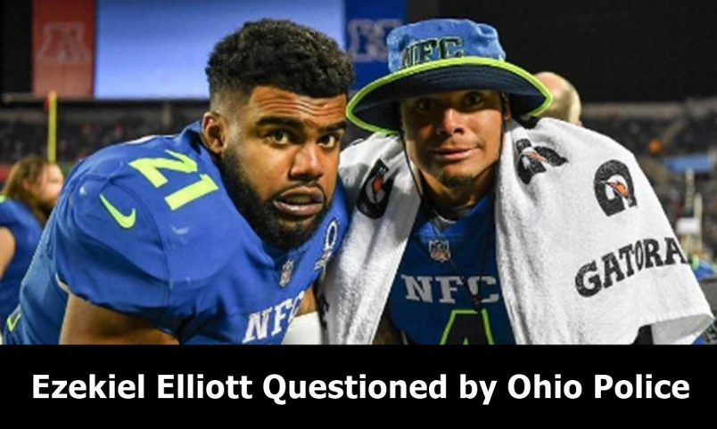 Ezekiel Elliott Questioned about Columbus Nightclub Incident