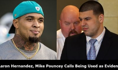 Aaron Hernandez, Mike Pouncey Calls Being Used as Evidence
