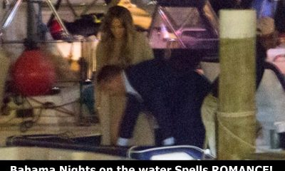 A-Rod and J-Lo First Sighting in The Bahamas