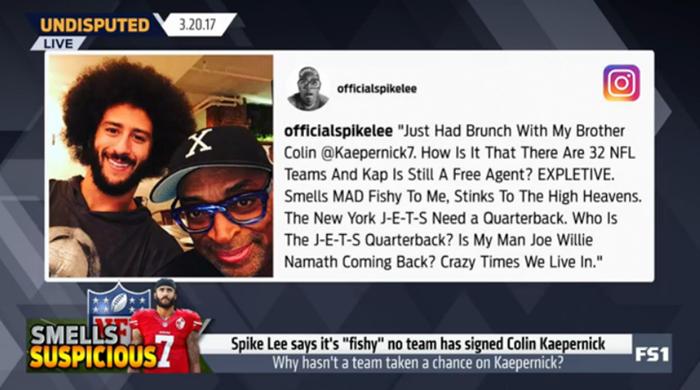 Colin Kaepernick Anthem Protest Causing NFL Free Agent Backlash