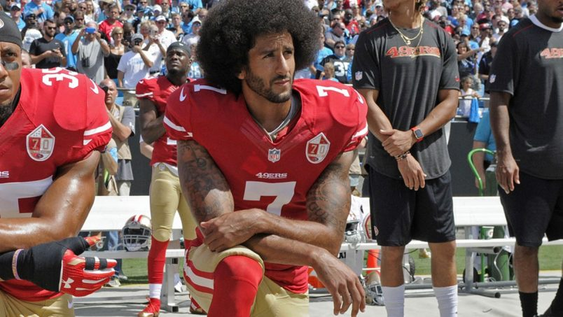 Colin Kaepernick Will Stand During National Anthem in 2017