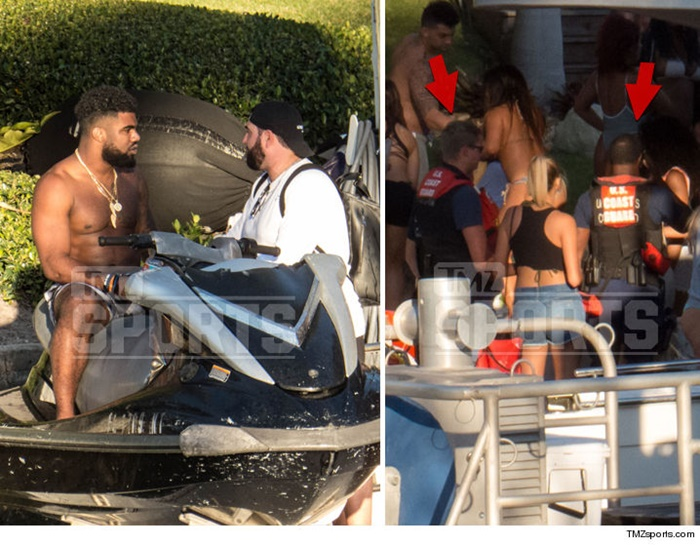 Ezekiel Elliott Yacht Searched Coast Guard