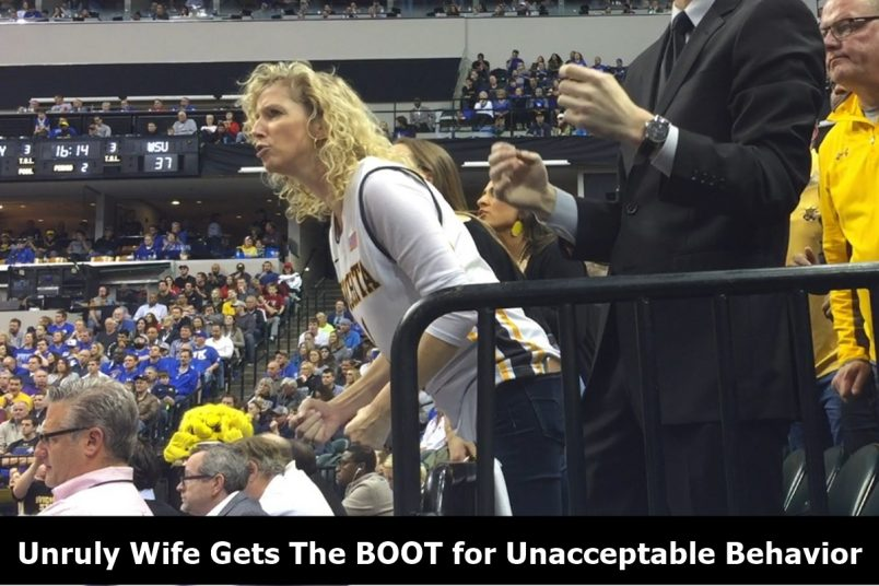 Wichita State Coach Gregg Marshall Wife Gets BOOTED