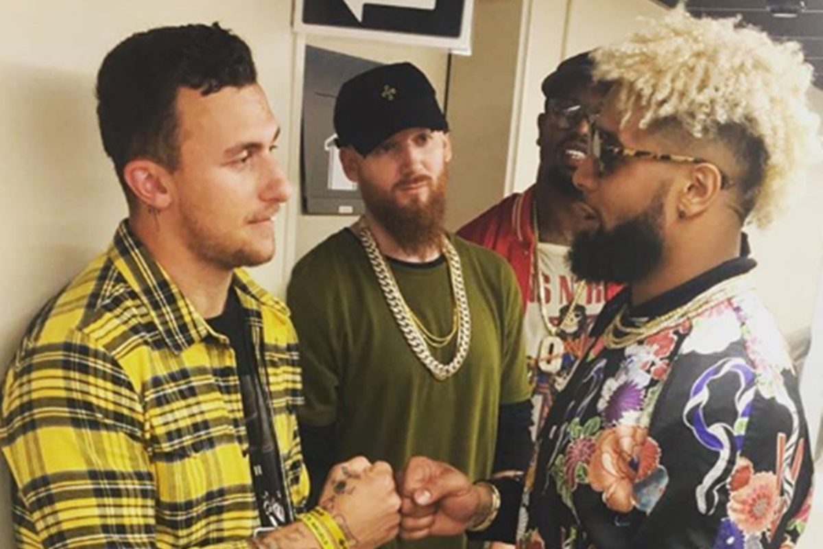 When Did Johnny Manziel Start Hanging with Odell Beckham Jr