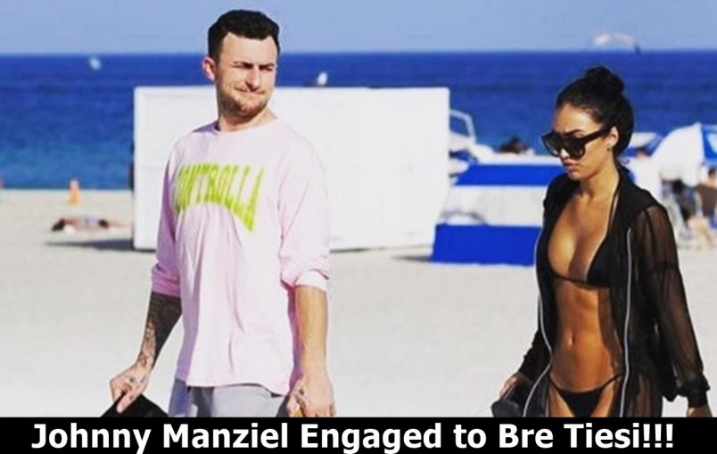 Johnny Manziel Puts A Ring On It