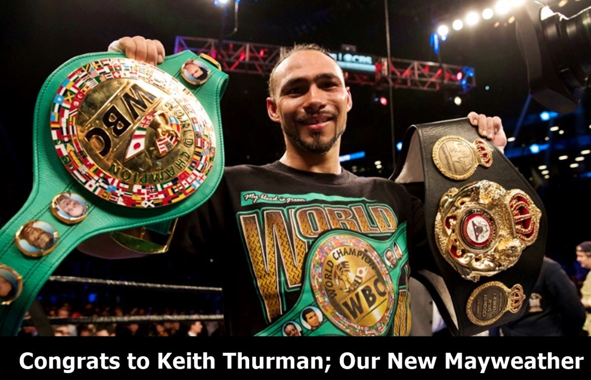 Keith Thurman WINS Welterweight After Split Decision Over Garcia